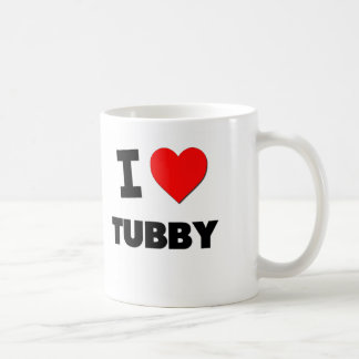 I love Tubby Classic White Coffee Mug