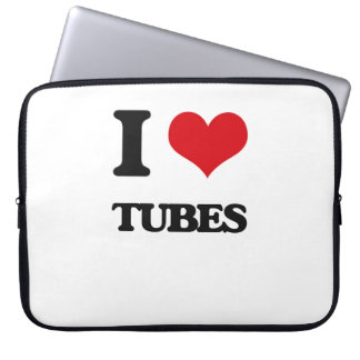 I love Tubes Laptop Computer Sleeves