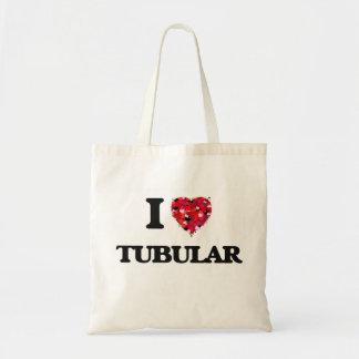 I love Tubular Budget Tote Bag