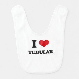 I love Tubular Baby Bib