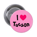 I Love Tucson Pinback Buttons