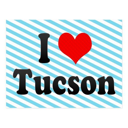 I Love Tucson, United States Postcard