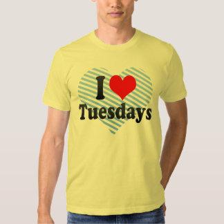 I Love Tuesdays Tee Shirt