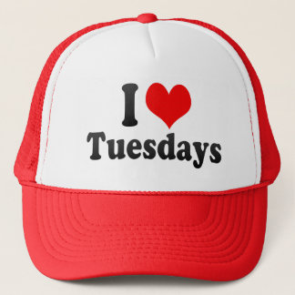 I Love Tuesdays Trucker Hat