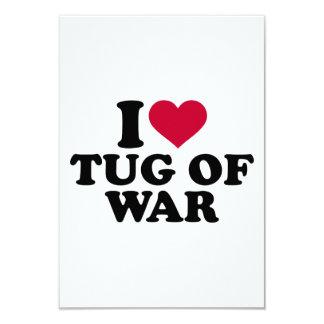 I love Tug of war Card