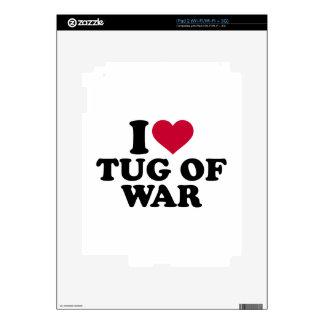 I love Tug of war iPad 2 Skin