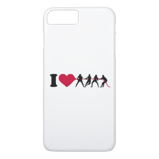 I love Tug of war iPhone 7 Plus Case