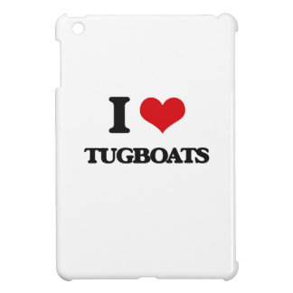 I love Tugboats iPad Mini Cover