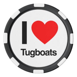i love tugboats poker chips
