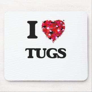 I love Tugs Mouse Pad