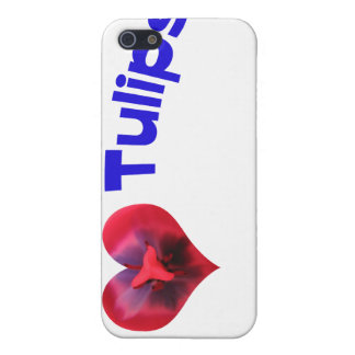 I love tulips blue iPhone 5 covers