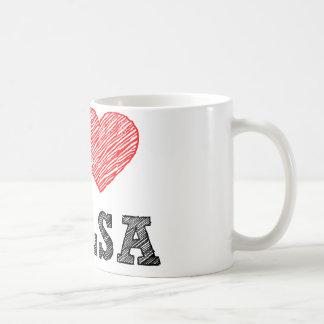 I Love Tulsa Coffee Mug