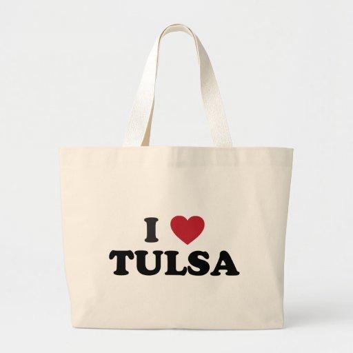 I Love Tulsa Oklahoma Bag