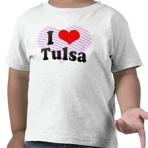 I Love Tulsa, United States Tees