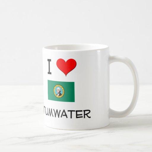 I Love Tumwater Washington Classic White Coffee Mug
