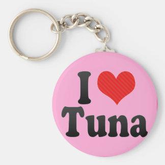 I Love Tuna Keychain