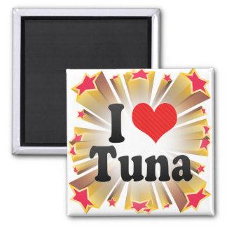 I Love Tuna Magnets