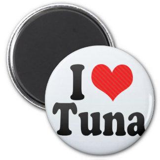 I Love Tuna Refrigerator Magnets