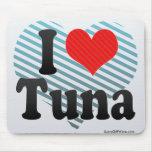I Love Tuna Mouse Pad