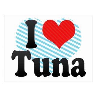 I Love Tuna Postcard