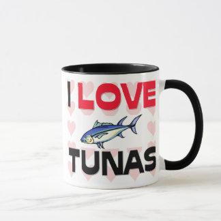 I Love Tunas Mug