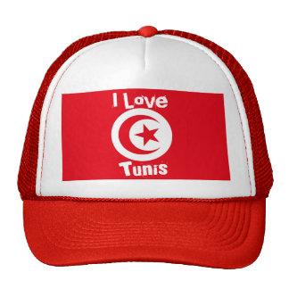 I Love Tunis Trucker Hat