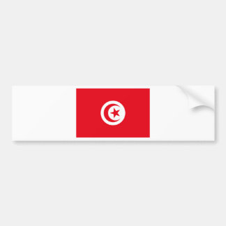 I Love Tunisia Bumper Sticker