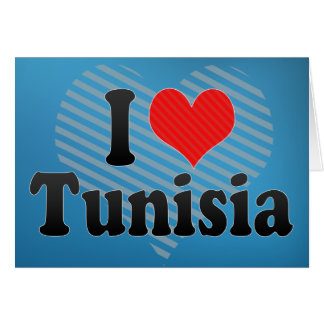I Love Tunisia Card