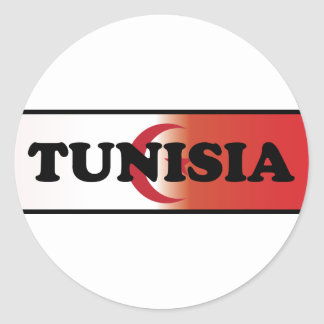 I Love Tunisia Classic Round Sticker