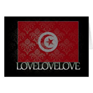 I love Tunisia Cool Card