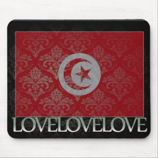 I love Tunisia Cool Mouse Pad
