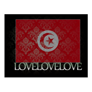I love Tunisia Cool Postcard