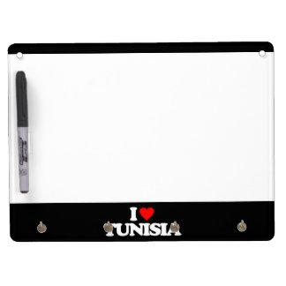 I LOVE TUNISIA DRY ERASE BOARD