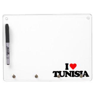 I LOVE TUNISIA Dry-Erase BOARD