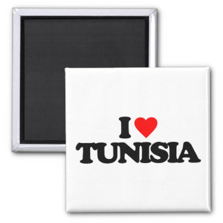 I LOVE TUNISIA MAGNET