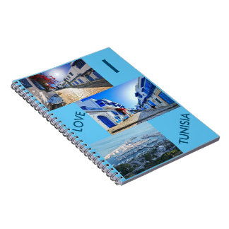 I LOVE TUNISIA Photo Notebook