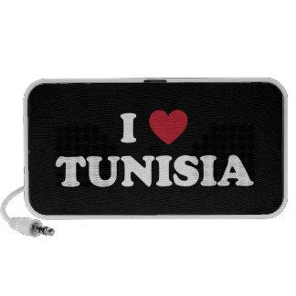 I Love Tunisia Portable Speaker