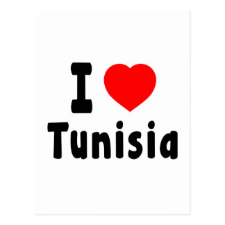 I Love Tunisia. Postcard