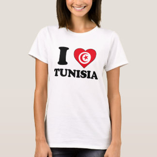 I love Tunisia T-Shirt