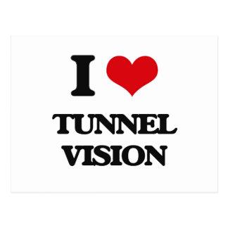 I love Tunnel Vision Postcard