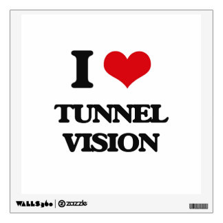 I love Tunnel Vision Room Decals