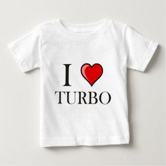 I Love Turbo Baby T-Shirt