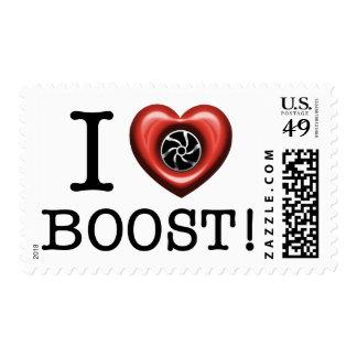 I love Turbo Boost post stamp