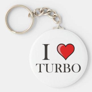 I Love Turbo Keychain