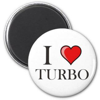 I Love Turbo Magnet