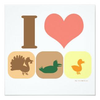 I Love Turducken! Invites