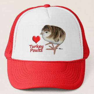 I Love Turkey Poults! Trucker Hat