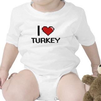 I Love Turkey Bodysuit