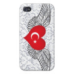 I Love Turkey -wings Covers For iPhone 4