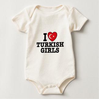 I Love Turkish Girls Romper